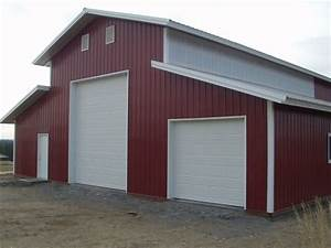 40x60x16 garage warehouse shop pole barn steel building With 20 x 40 pole barn cost