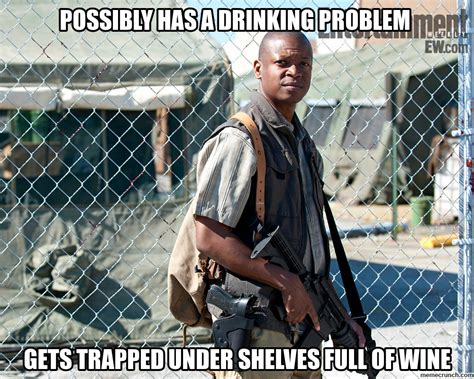 T Dog Memes - less cool t dog drinking problem