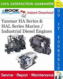 Yanmar Ha Series  U0026 Hal Series Marine    Industrial Diesel