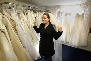 laura griffiths in brides try on wedding dresses at the With wedding dresses for charity