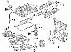 Chevrolet Equinox Engine Valve Cover  1 5 Liter  Equinox  Terrain