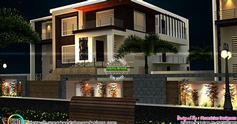 modern house plan  phoenician designers kerala home design  floor plans