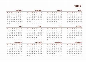 2017 calendar one page template get calendar templates With single page calendar template