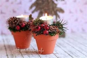 Tischdekoration Zu Weihnachten : basteln zu weihnachten floristik tischdekoration ~ Michelbontemps.com Haus und Dekorationen