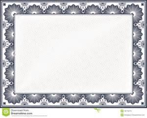 Blank Certificate Borders Templates