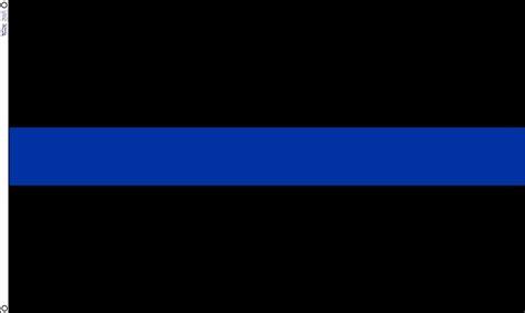3x5 Ft Thin Blue Line Flag Police Cop Flag Sewn Nylon