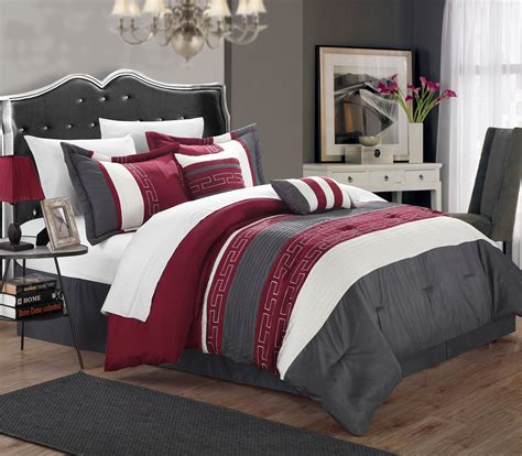 chic home rosswell  piece bed   bag comforter set