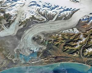 Glacier Photo  Bering Glacier  The Largest Glacier In North America  Usgs Water Science School