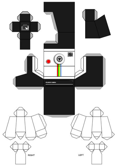 printable camera template printableecom