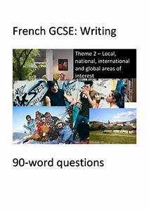 Whs Gcse French Exam Pract Papers