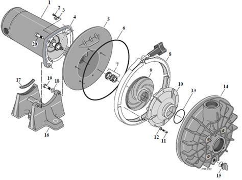 Parts For Sta Rite Pump Model # P2ra5e-181l