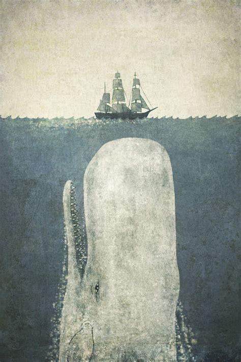white whale canvas art print  terry fan icanvas