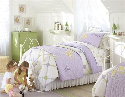 I Love The Pottery Barn Kids Lindsey Lavender Butterfly