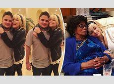 Paris Jackson cosies up to grandma Katherine and Prince