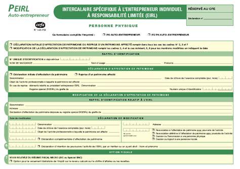 Modification De Declaration by Modification Activit Auto Entrepreneur Modification