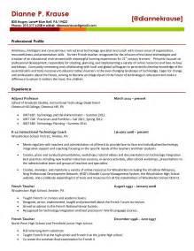 Dianne Krause 39 S Resume