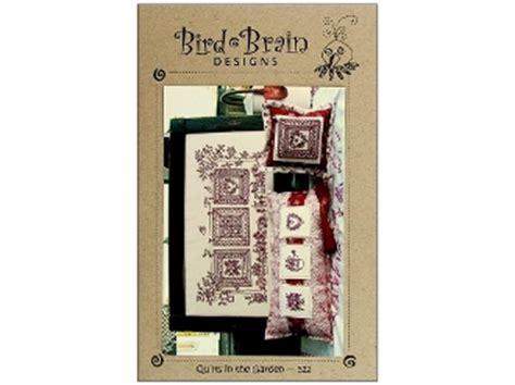 bird brain designs bird brain designs nine patch redwork embroidery