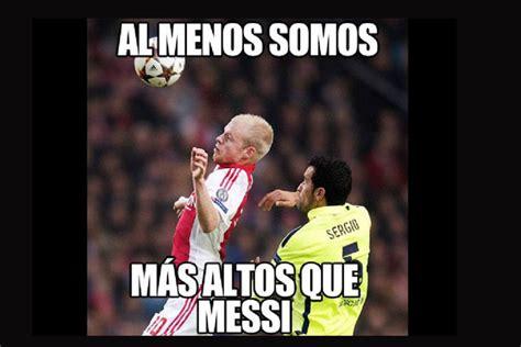 Los Memes De Messi - los memes de messi al igualar el r 233 cord de ra 250 l en chions