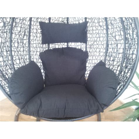 replacement cushion set for swing egg pod wicker chair