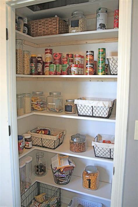Shelving Pantry Ideas by Diy New Pantry Shelving Organization