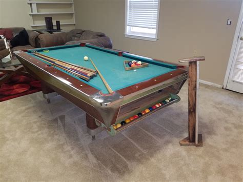 used pool table price guide fischer pool table serial number where is it