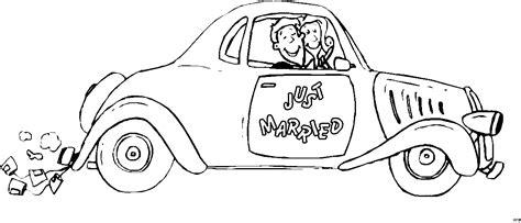married auto ausmalbild malvorlage auto