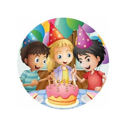 Birthday Cake Parties Cutting Fun Ceremony