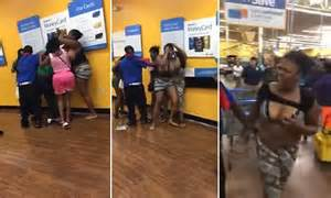Cold Calling Job Group Of Women Slap Each Other Up Inside A Walmart Daily