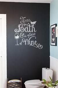 Tableau Craie Cuisine : diy comment crire la craie sur un mur comme une artiste le meilleur du diy ~ Teatrodelosmanantiales.com Idées de Décoration