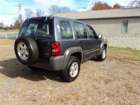 desert tan jeep liberty purchase used 2002 jeep liberty sport 4x4 low mileage