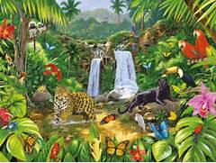 El Mundo M  gico del Verde  enero 2015  Jungle Drawing With Animals