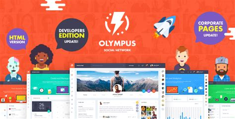 social network profile template olympus html social network toolkit welcome to manytheme