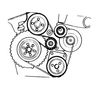 Need Diagram For Serpentine Belt Bmw