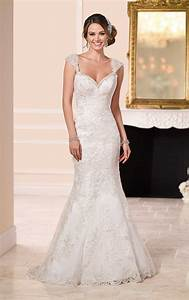 lace over satin low back wedding dresses stella york With stella york lace wedding dress