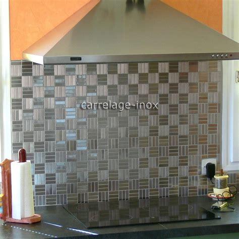 peindre carrelage credence cuisine carrelage credence cuisine design mosaque inox 1m2