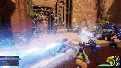 Kingdom Hearts Jump Play Footage Enix Square