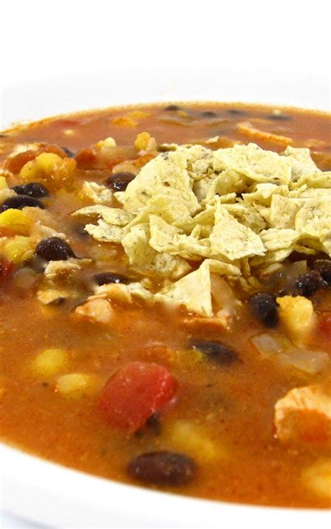 heavenly chicken tortilla soup weight watchers recipes