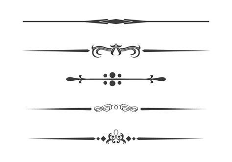 Decorative Divider Lines - divider free vector 10679 free downloads