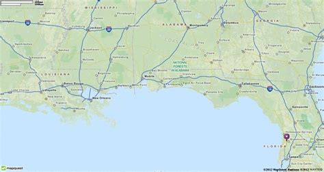 map  florida mapquest