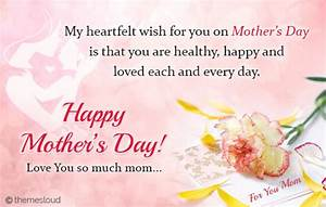 My Heartfelt Wish For You Mom... Free Love You Mom eCards ...