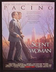 Magazine Ad For Movie, Scent Of A Woman, Al Pacino, Chris ...