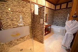 Salle De Bain Douche Et Baignoire : salle de bain avec douche italienne et baignoire d angle ~ Preciouscoupons.com Idées de Décoration