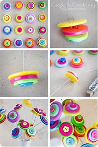 23 Easy To Make and Extremely Creative Button Crafts Tutorials