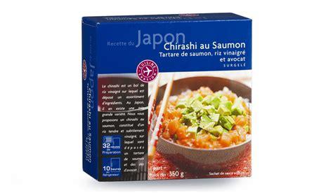 produit cuisine chirashi au saumon surgelés cuisine évasion picard
