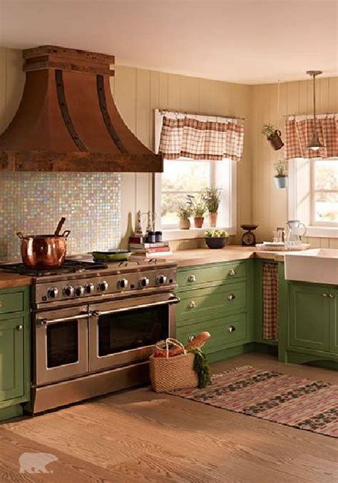 cottage kitchen colors 92 best colorful kitchens images on colorful 4356