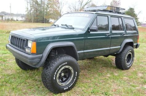 green jeep cherokee lifted find used 1994 lifted jeep cherokee xj in ardmore alabama