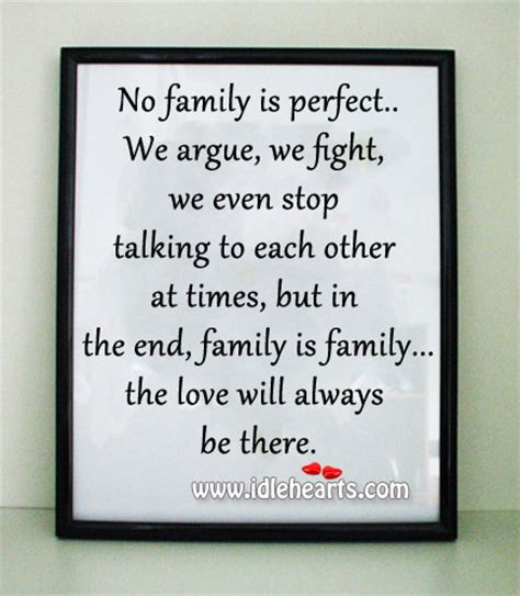 Your Family Will Always Be There Quotes