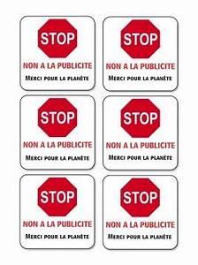 Etiquette Pour Boite Aux Lettres : etiquettes stop pub gratuites pour boite a lettre ~ Dailycaller-alerts.com Idées de Décoration