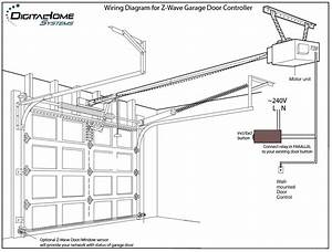 Genie Garage Door Sensor Wiring Diagram With Regard To Present Household