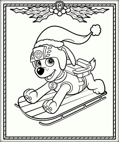 Paw Patrol Coloring Pages Pictures to pin on Pinterest